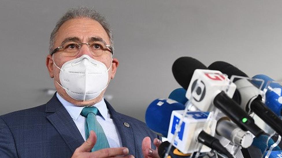 O novo ministro da saúde, Marcelo Queiroga