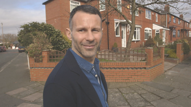Former Manchester United player Ryan Giggs