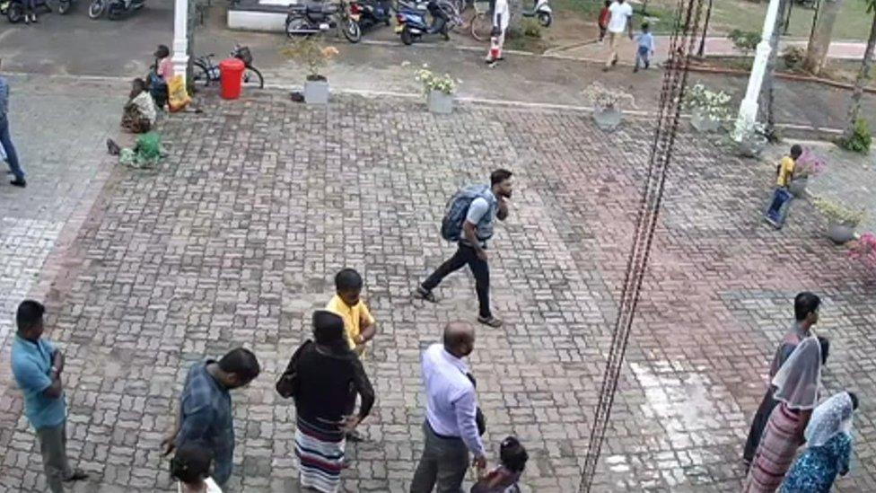 snimak bombaša na crkvu svetog Sebastijana