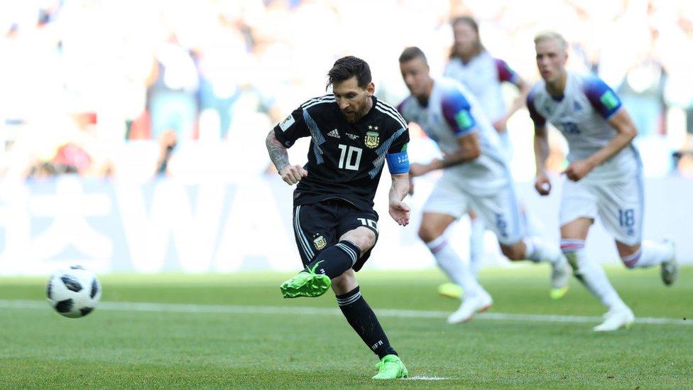 Messi hizo más disparos a puerta que Cristiano Ronaldo pero no logró meter ningún gol.