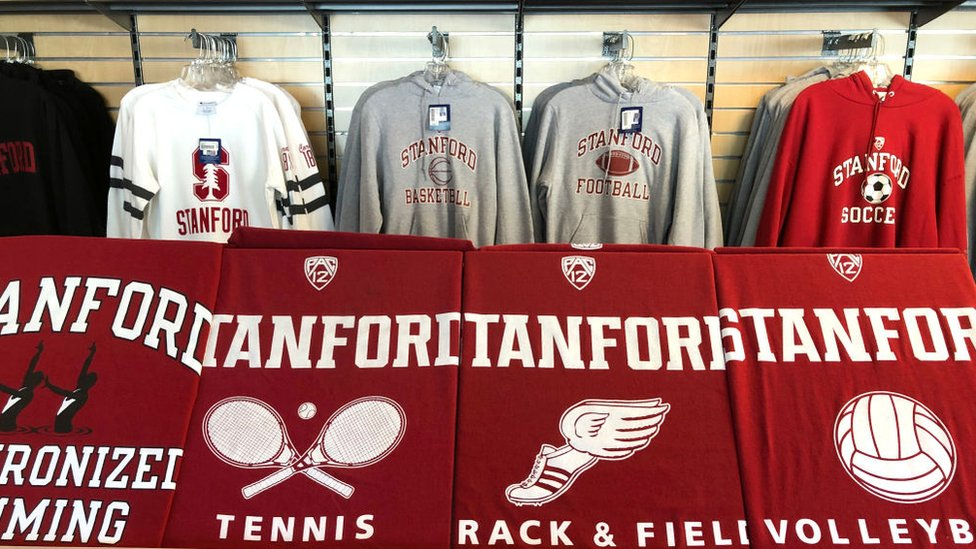Stanford University's sports merchandise