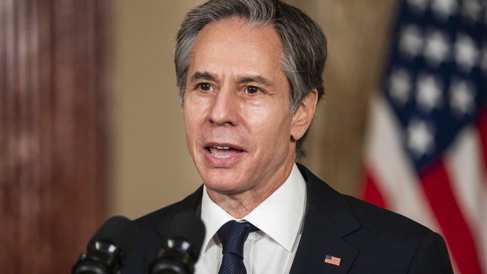 Antony Blinken, secretario de Estado de EE.UU.