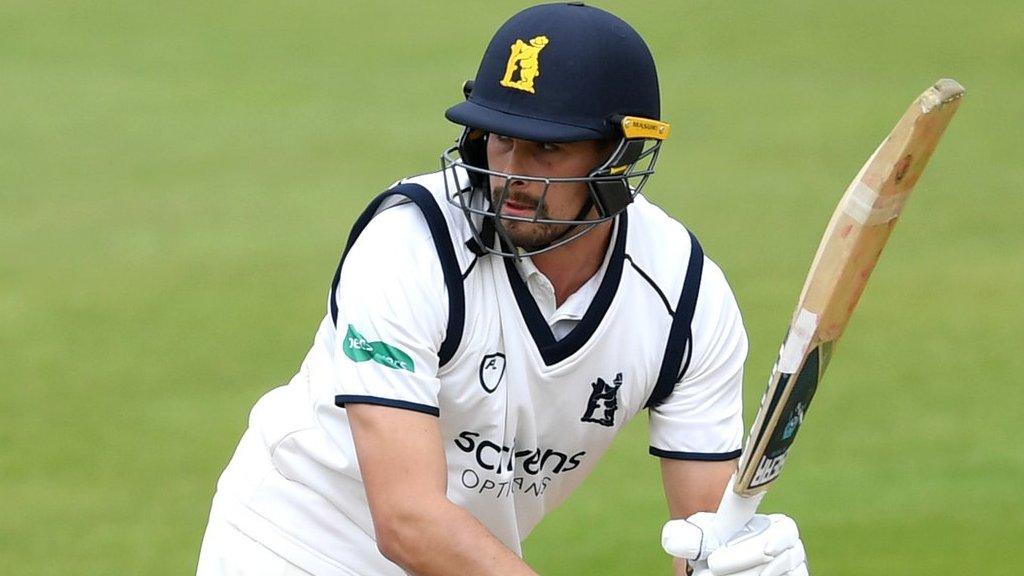 County Championship: Warwickshire's bowlers stun Kent before Will Rhodes ton