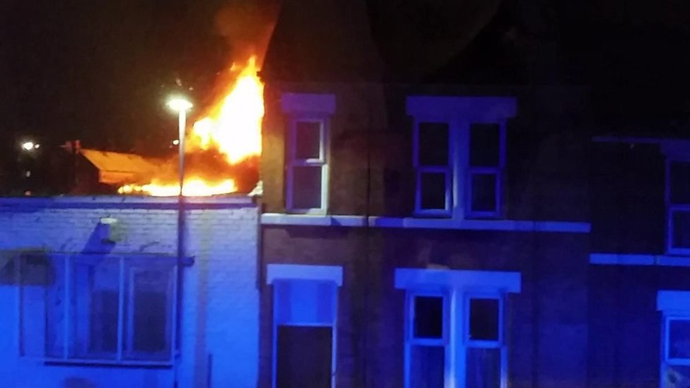 Normanton fire that evacuated 100 homes 'accidental'