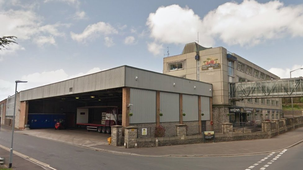 Shepton Mallet cider mill