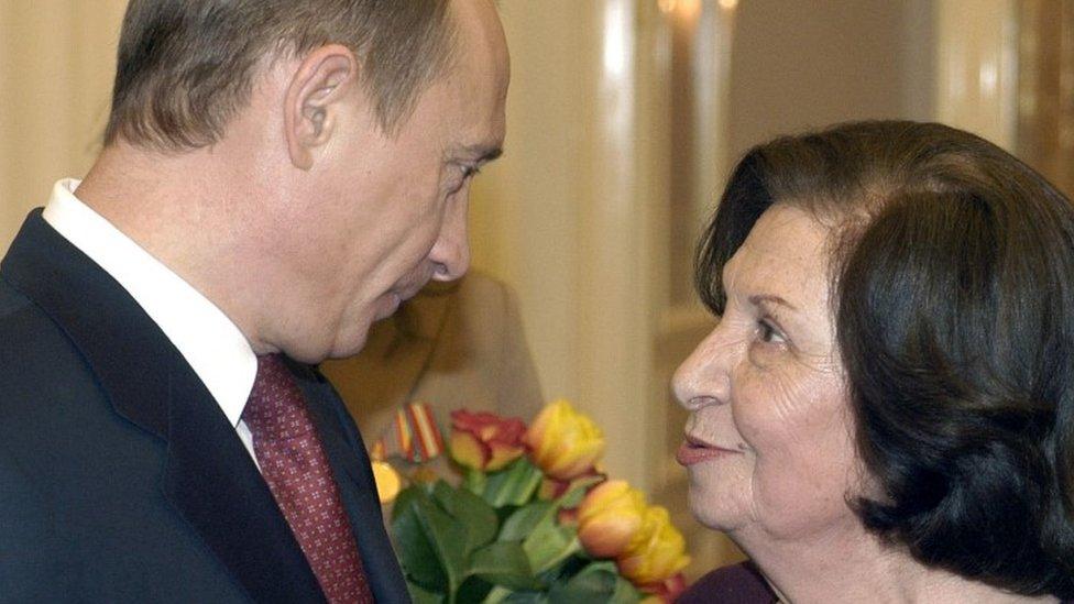 بوتين وغور فارتانيان