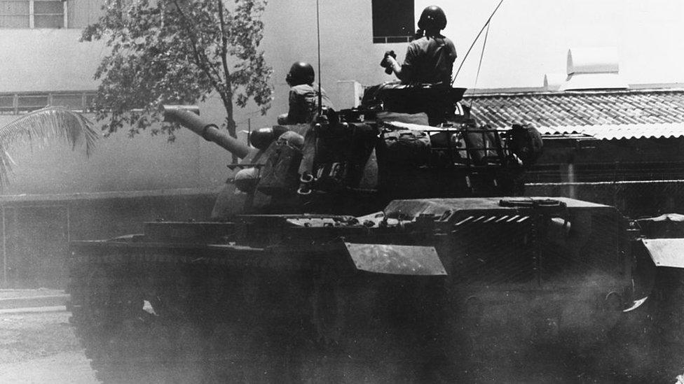 En 1965, las fuerzas estadounidenses desembarcaron en República Dominicana.