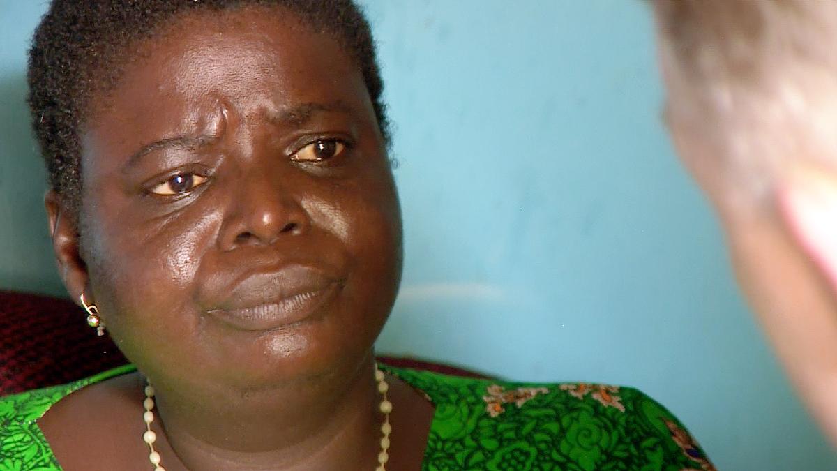 Joyce Osagiede, entrevistada en Nigeria.