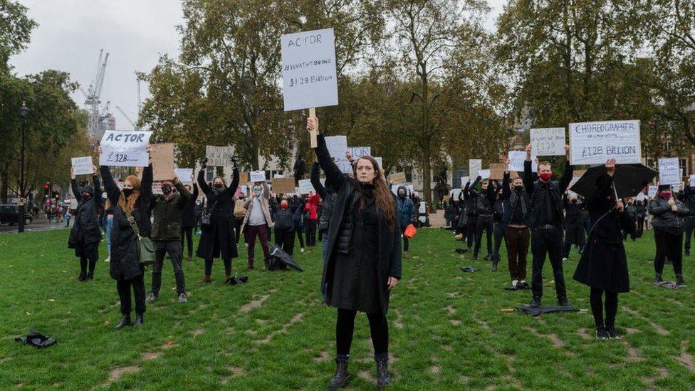 actors protest
