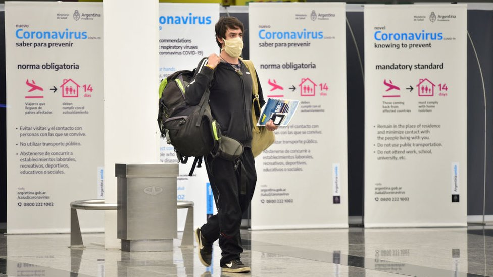 Aeropuerto en Argentina