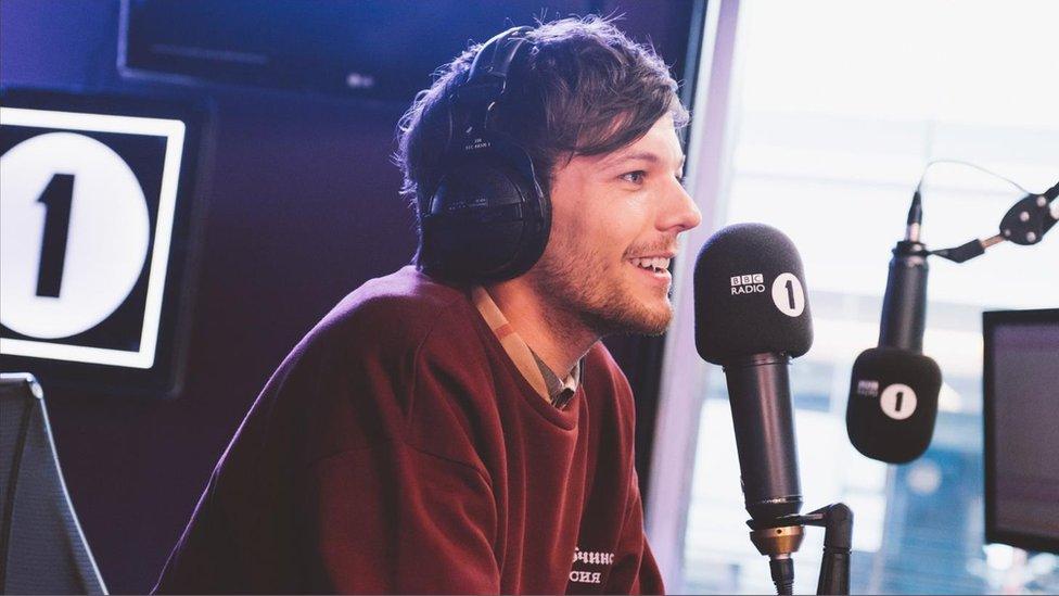 Louis on Radio 1