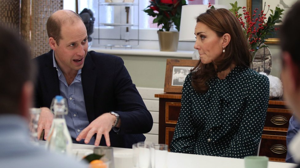 William and Kate told of Spice devastation