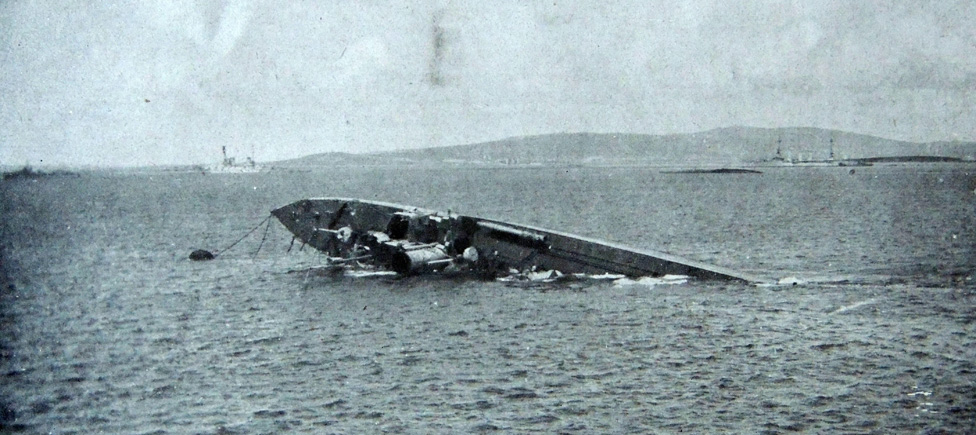WW1: The letter that reveals a brutal day at Scapa Flow - BBC News