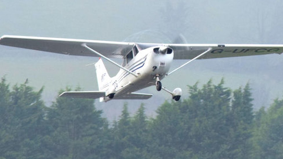 Stevenage near-miss pilot 'did not see other plane'
