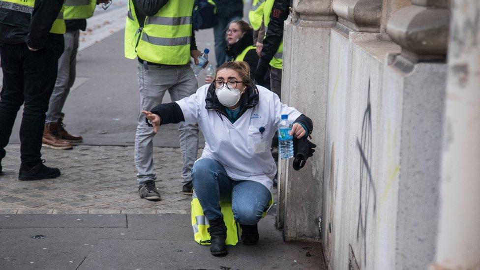 Sarı Yelekliler protestoları