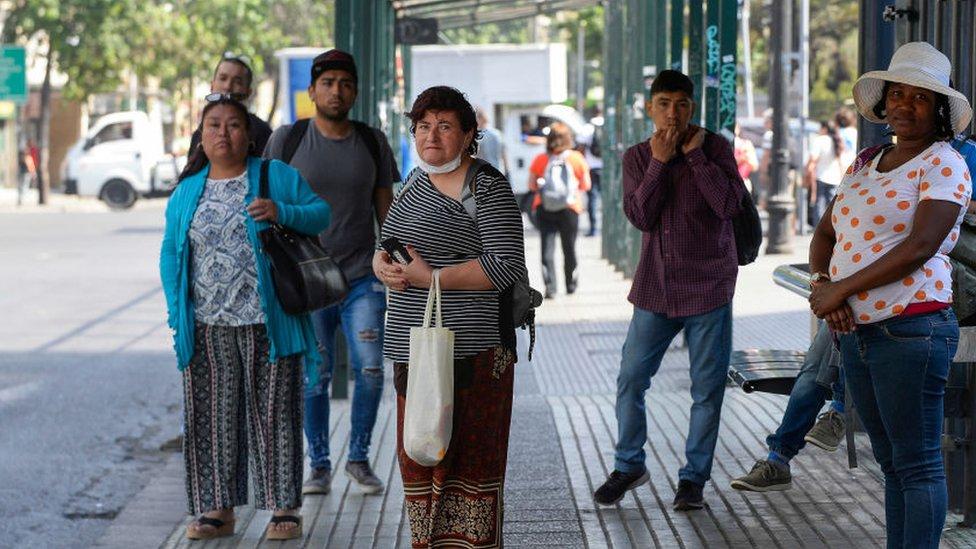 Gente en Chile