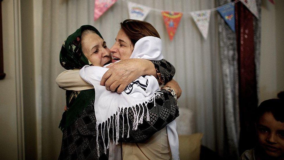 Nasrin Sotoudeh NO USAR / BBC