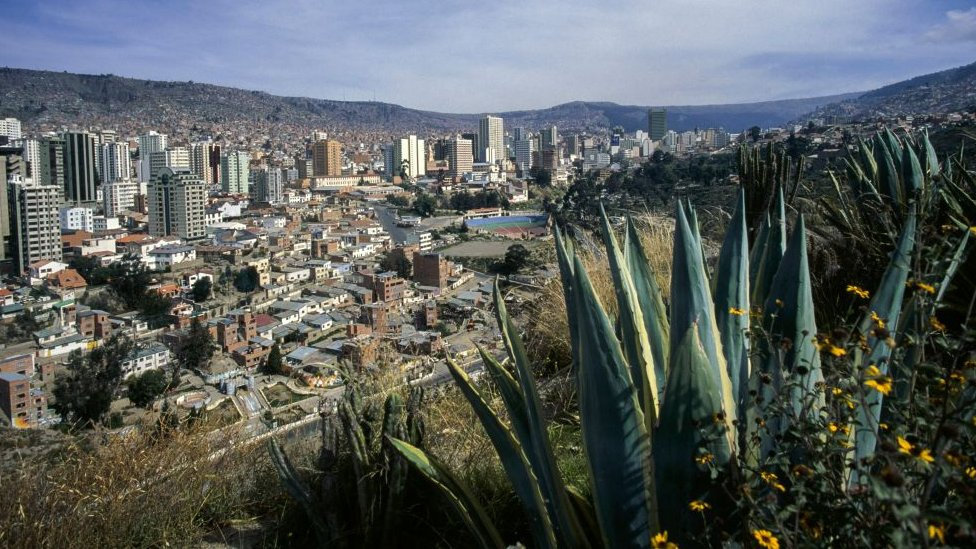 La Paz, Bolivia (file photo)