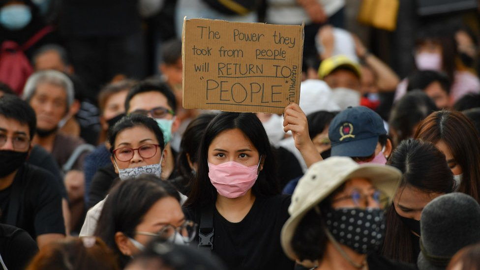 今年2月,在一個受歡迎的反對黨被當局下令解散後,新一輪抗議浪潮開始了。