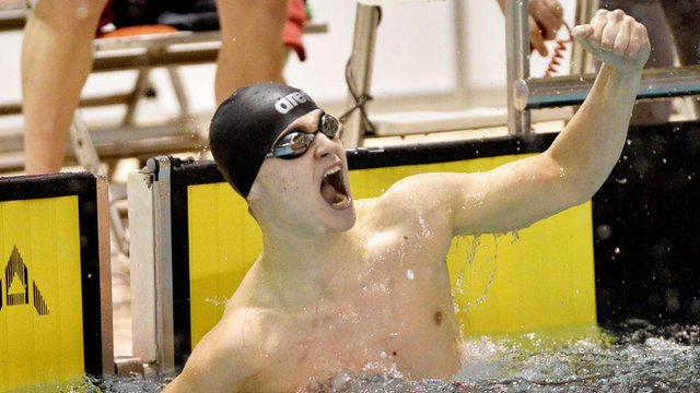 Conor Ferguson won a gold, two silver and a bronze medal at the recent Commonwealth Youth Games in Samoa.