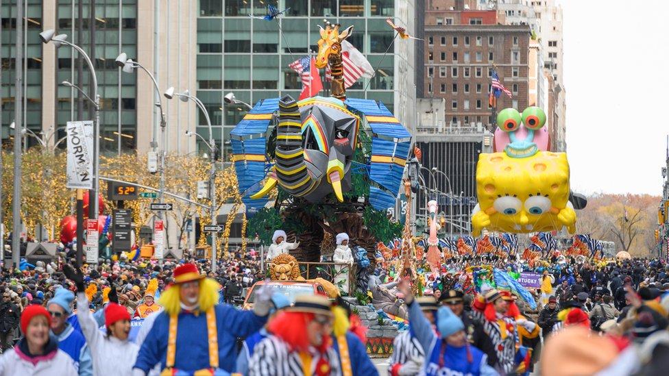 موكب عيد الشكر في نيويورك عام 2019