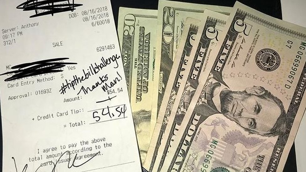 #TipTheBillChallenge: Why people are giving 100% tips