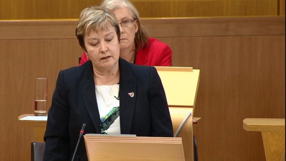 Highlands MSP Rhoda Grant asked the first minister to intervene