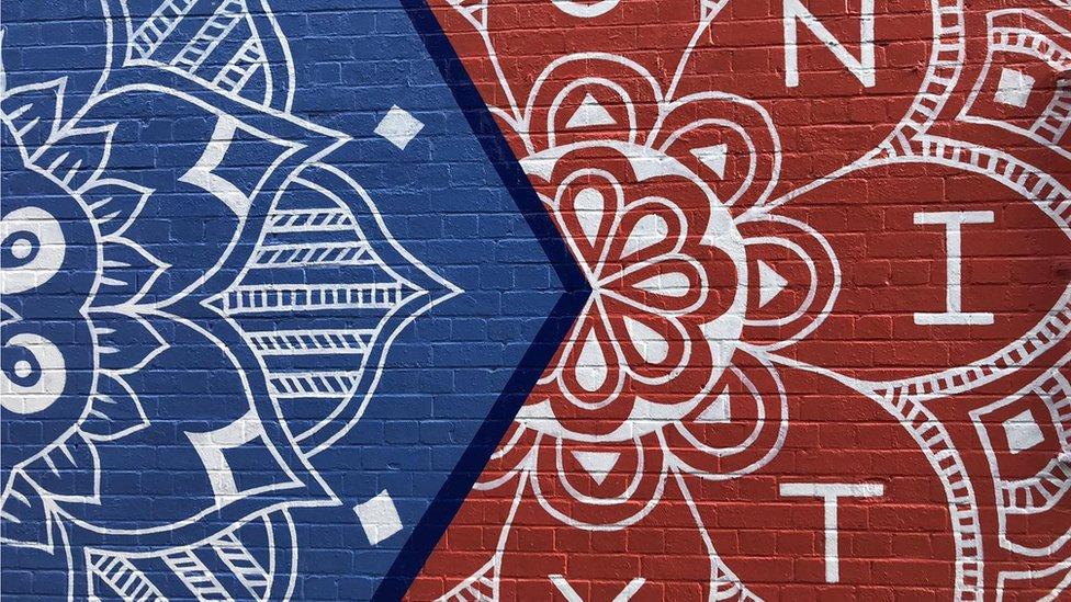 Easton mural