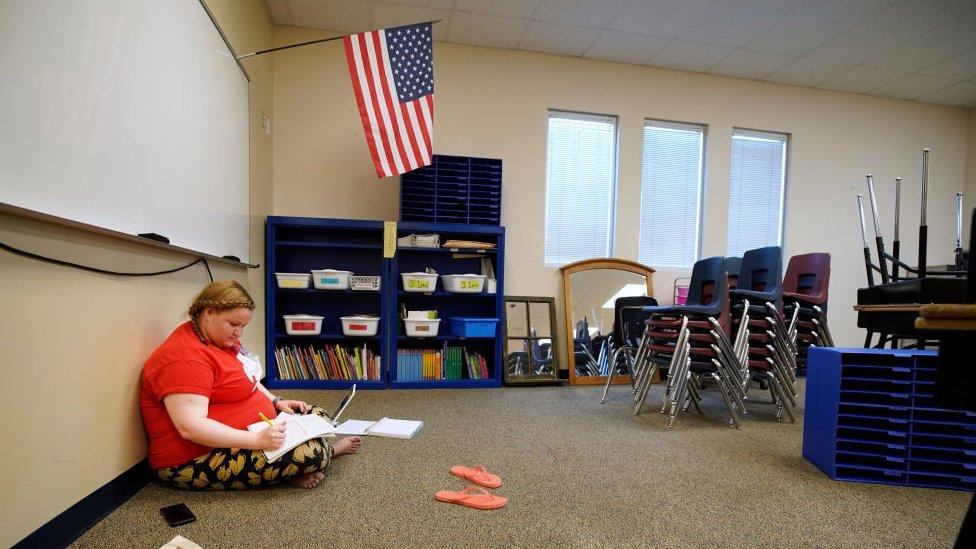 ABD genelinde birçok okul, Ağustos ayı sonunda açılmaya hazırlanıyor.
