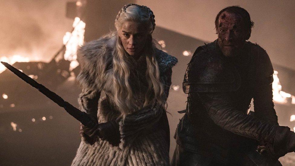 Daenerys y Jorah Mormont