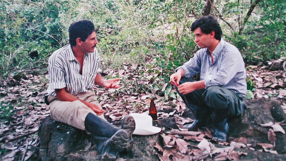 Carlos Pizarro y Rafael Pardo