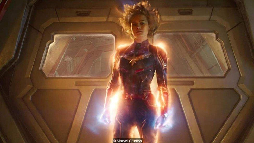 Imagen promocional Capitana Marvel.