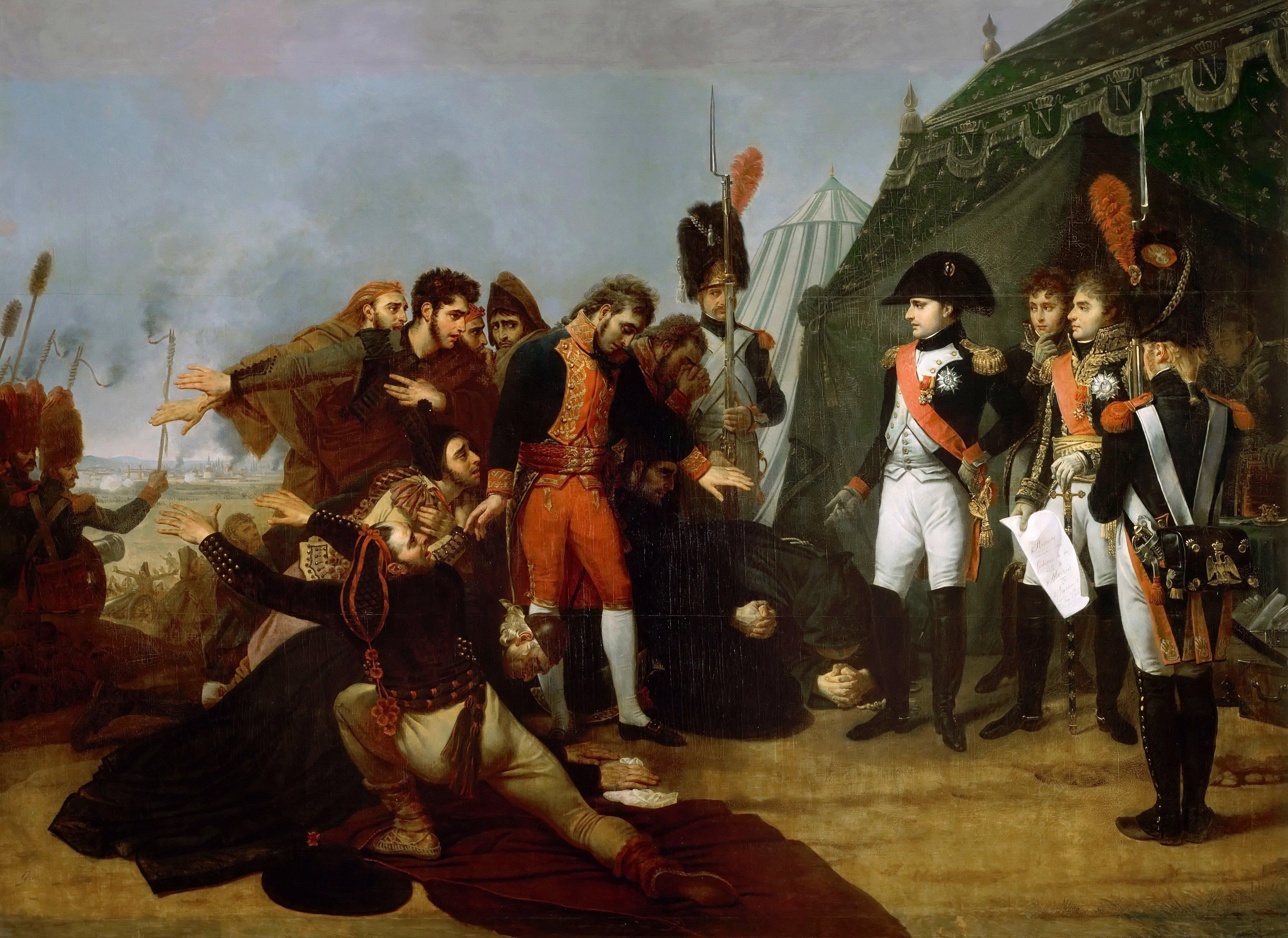 Capitulación de Madrid, Antoine-Jean Gros