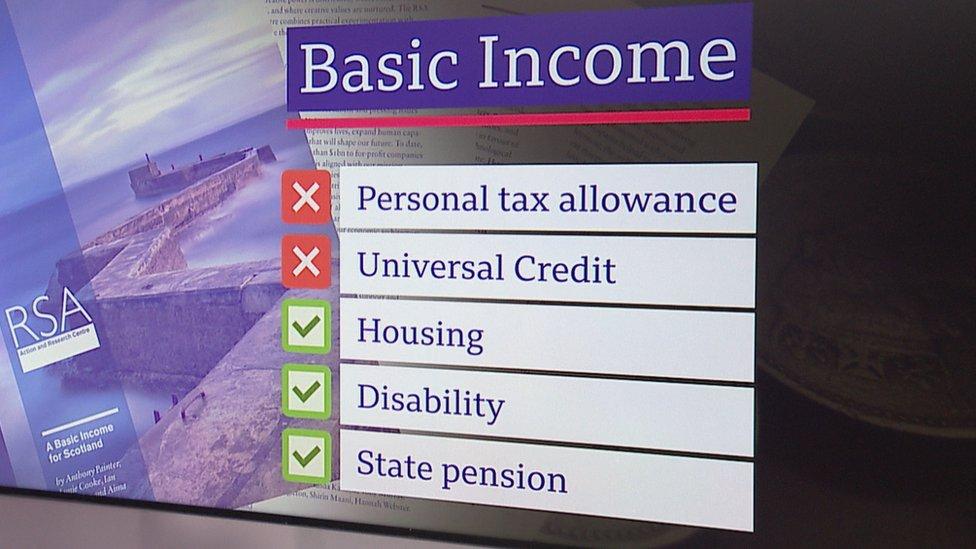 Basic income benefits