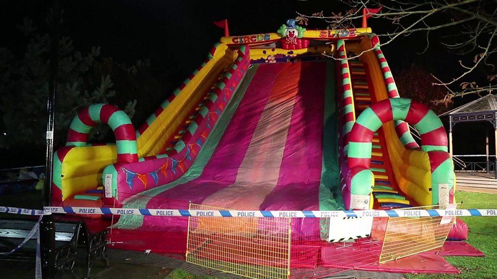 Eyewitness at Woking fairground: 'It looked so dangerous'