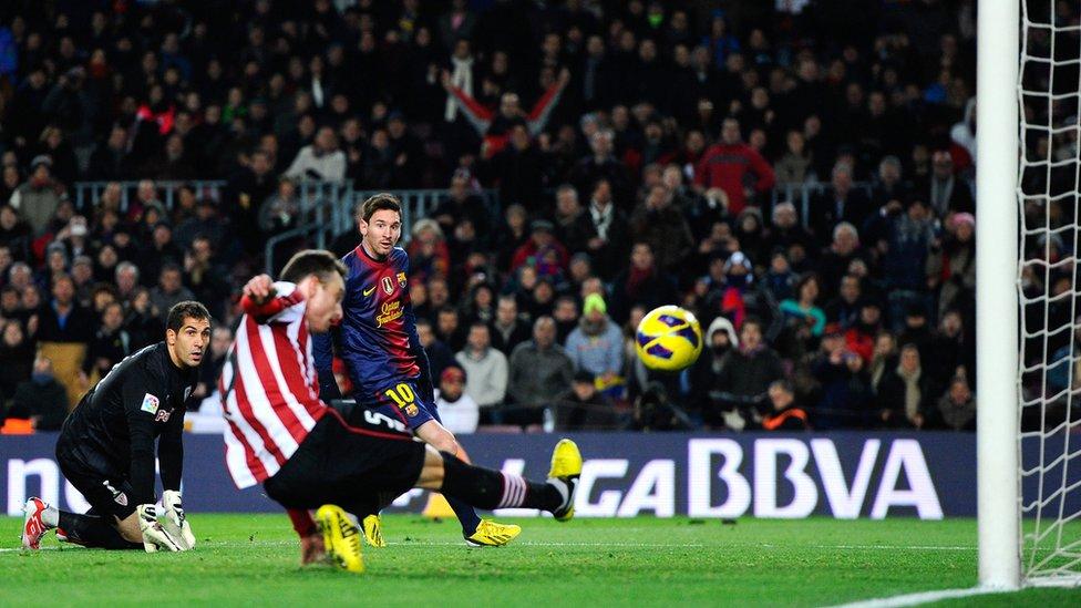 El gol fantasma de Messi.