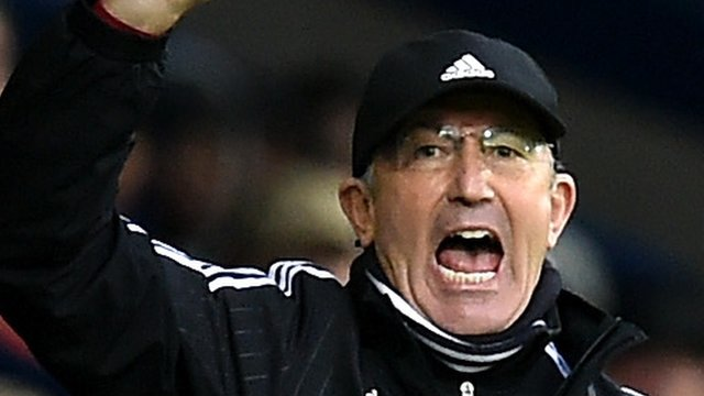 West Brom 1-1 Tottenham: Pulis 'really pleased' with effort