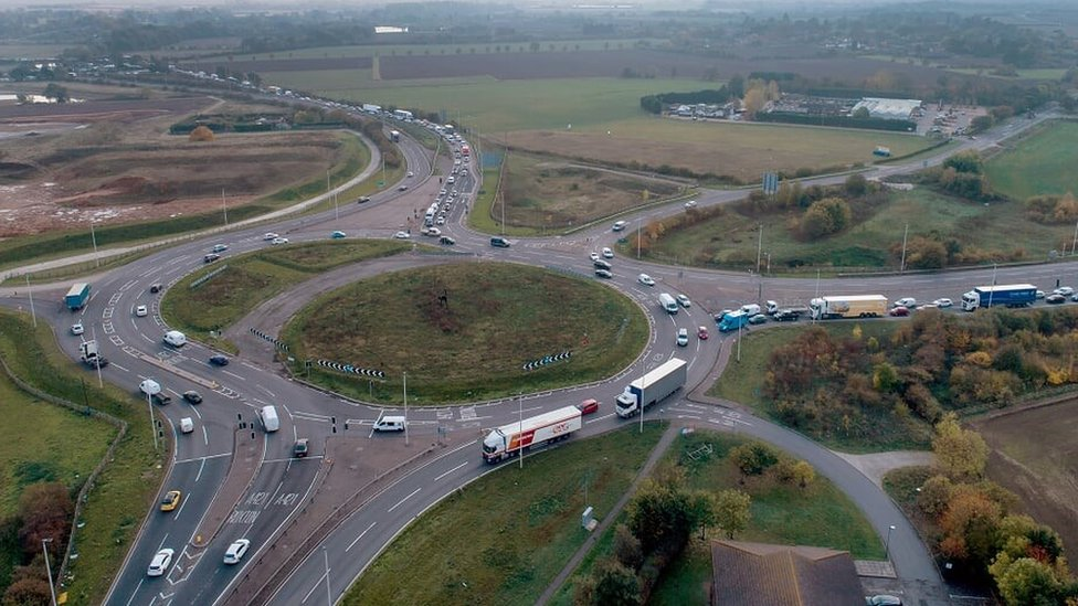 A1: Plans unveiled to spend £1.4bn improving Black Cat roundabout