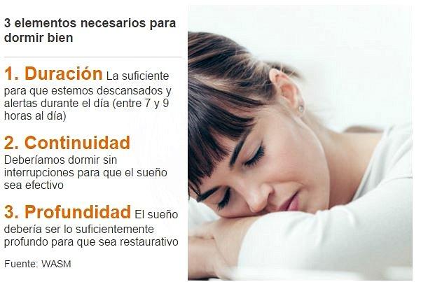 elementos para dormir bien