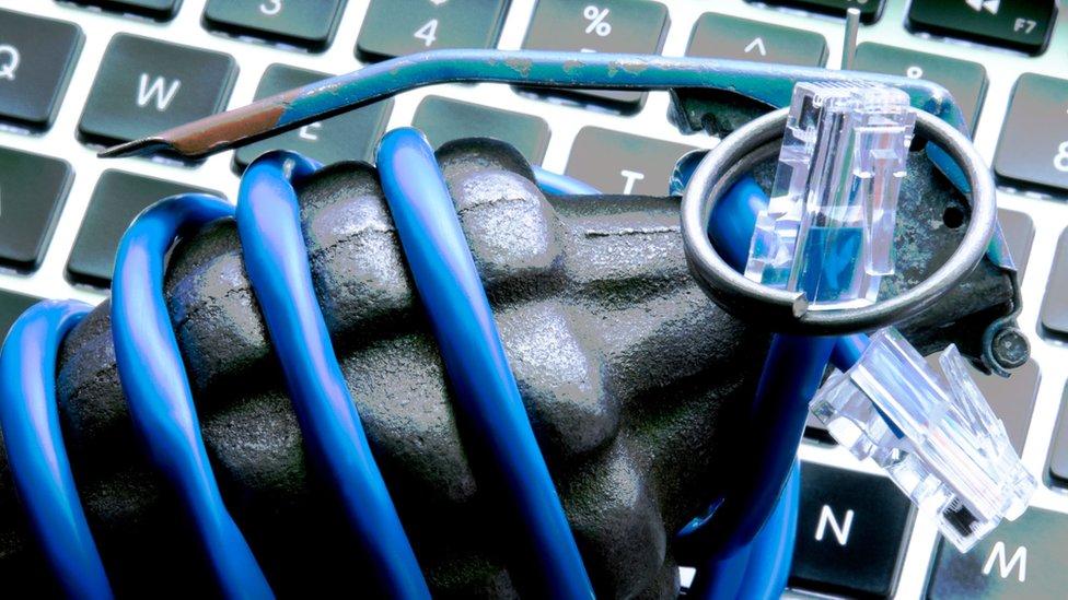 Computer grenade