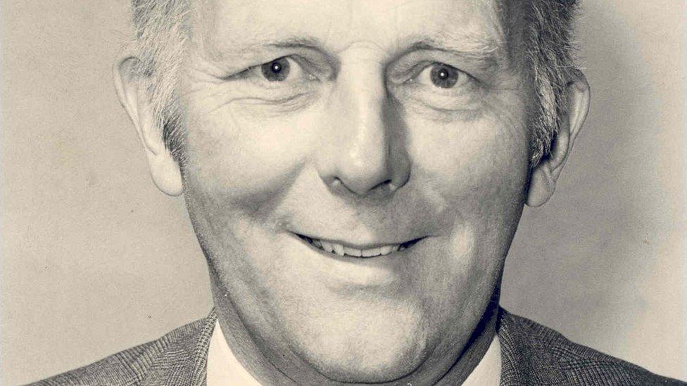 Dr Stewart Adams in 1970