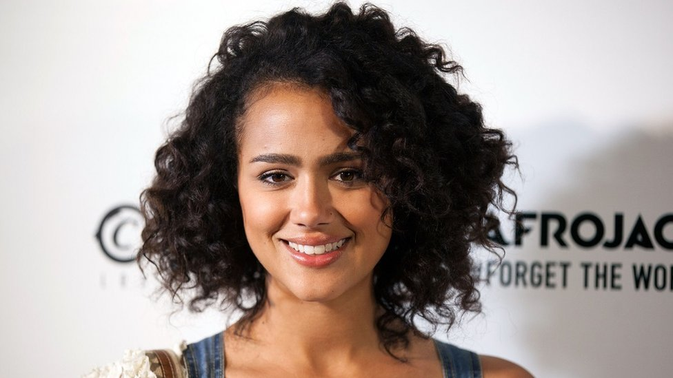 """Nathalie Emmanuel arrives for Afrojack's """"Forget The World"""" Album Release Celebration at Create on May 20, 2014 in Hollywood, California"""