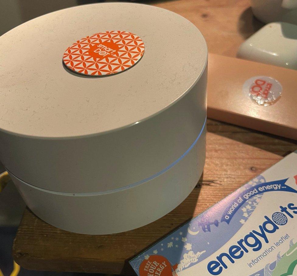 Energydots packaging
