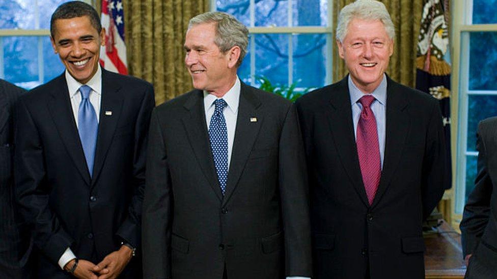 Three Ex-US presidents pledge to film themselves getting Covid vaccine -  BBC News