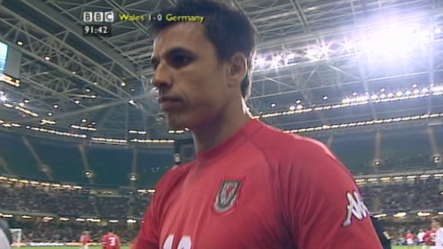 Coleman's 50 second Wales appearance
