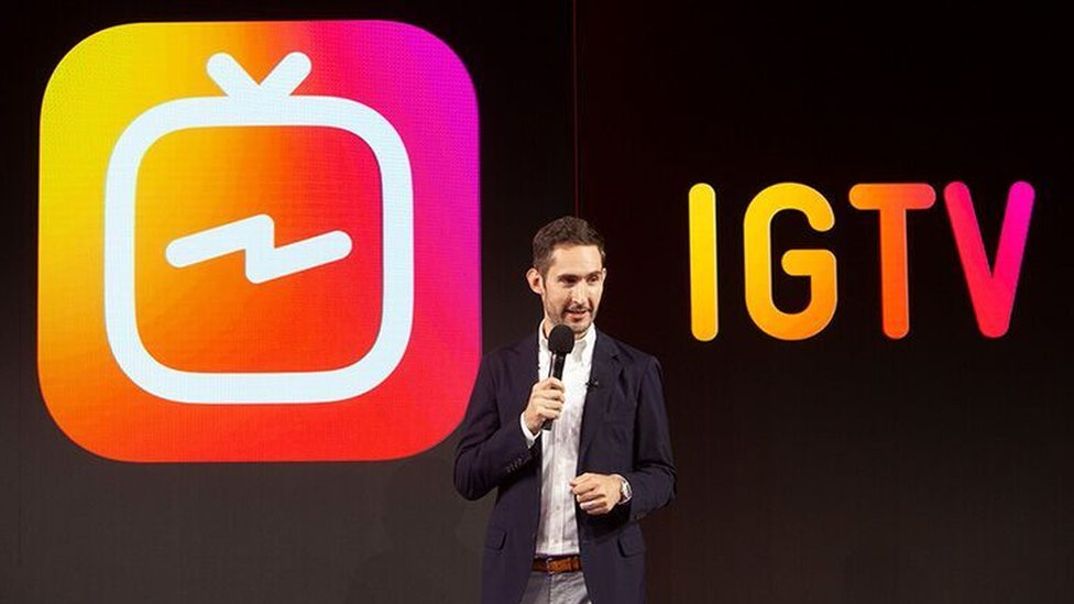 Kevin Sytrom launches IGTV