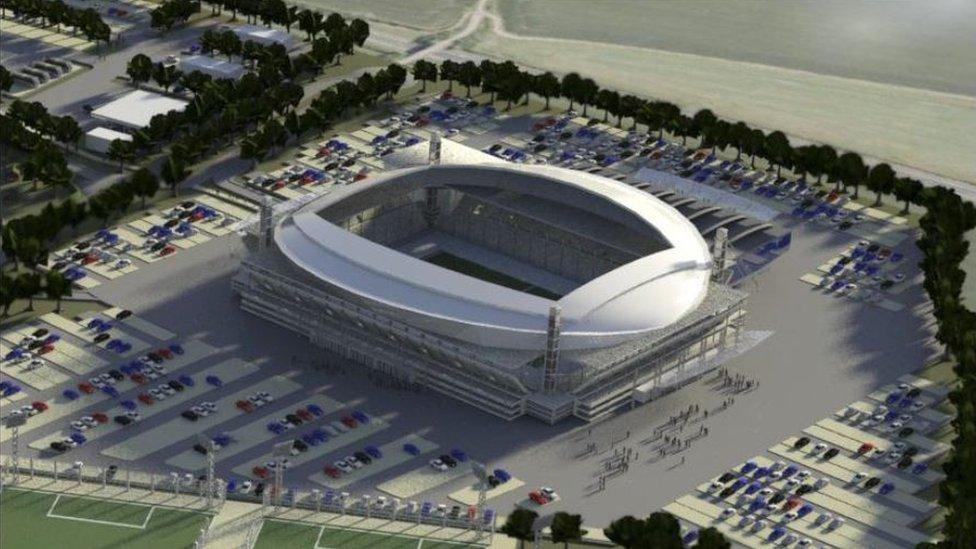 Grimsby Town look for alternative stadium site