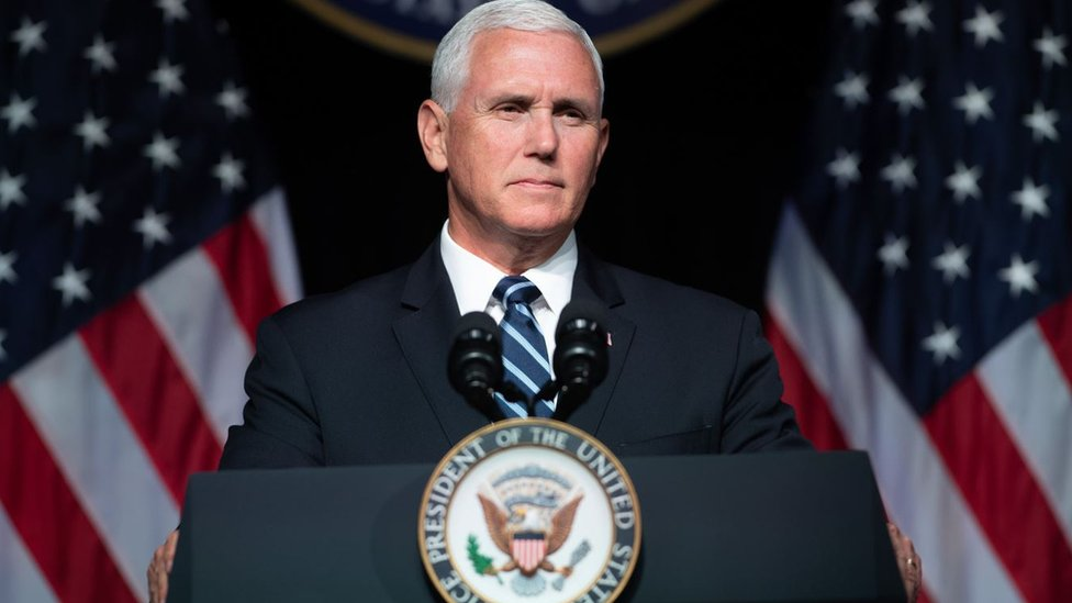 Michael Richard Pence, el vicepresidente de Estados Unidos