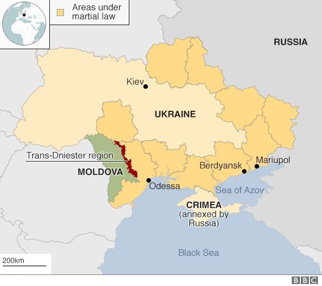 Peta darurat militer