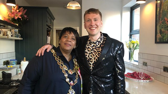Lord mayor opens Joe Lycett's new kitchen extension